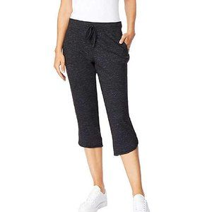 NEW 32 DEGREES Soft Fleece Knit Capri Pants